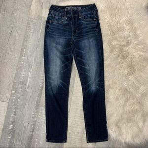 American Eagle Outfitters High Rise Skinny Jeans